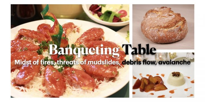 Vegetarian Banquet in the Midst of Pending Disaster
